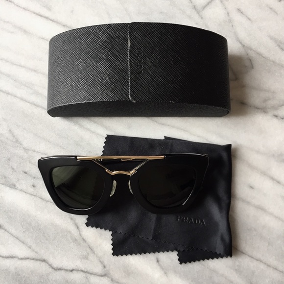 c94d6af635a5 Prada Cinema Cat Eye Sunglasses. M 5b8c4e0b5a9d21401569daa5. Other  Accessories ...